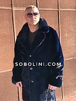 Мужское пальто из норки  Nafa, длина 100см