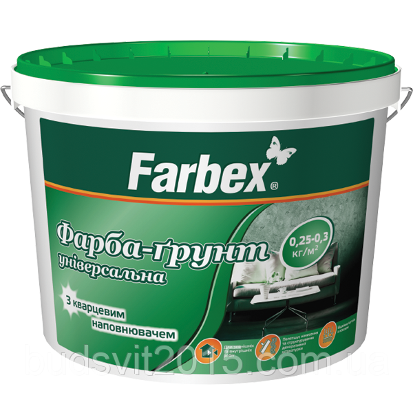 "Краска-грунт универсальная ТМ ""Farbex"" - 4,2 кг"