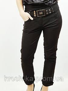 Брюки женские  с поясом чёрные(38)р Nysense Франция 01251