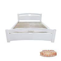 Кровать деревянная Венеция (ольха массив) от производителя. Кровати из дерева. Кровать для спальни из дерева.