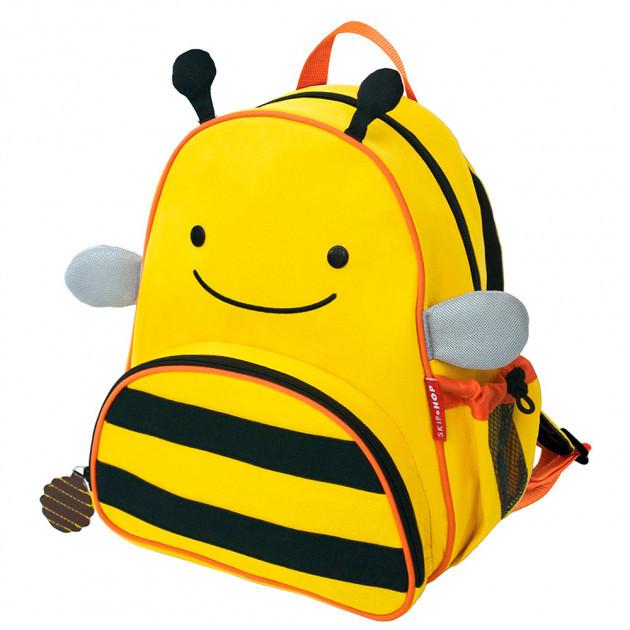 Детский рюкзак Skip Hop Zoo Pack (Zoo Little Kid Backpack) - Bee (Пчелка), 3+