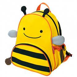 Детский рюкзак Skip Hop Zoo Pack (Zoo Little Kid Backpack) - Bee(Пчелка), 3+