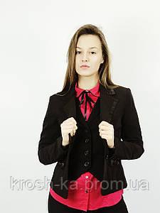 Жакет женский классический чёрный(40)р Nysense Франция 98921