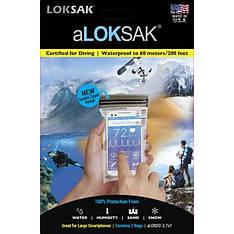 Водонепроницаемый пакет ALoksak ALOK1-3.7x7