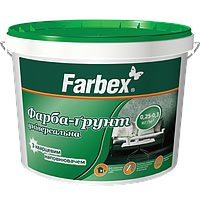 """Фарба-грунт універсальна ТМ """"Farbex"""" - 7 кг"""