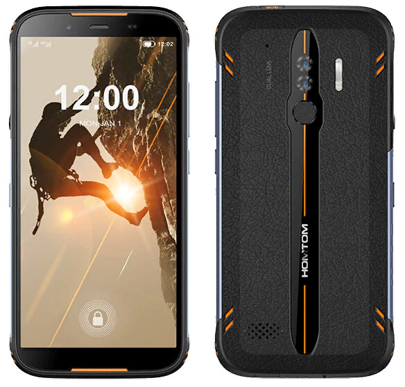 Телефон Homtom HT80 orange 2/16 гб