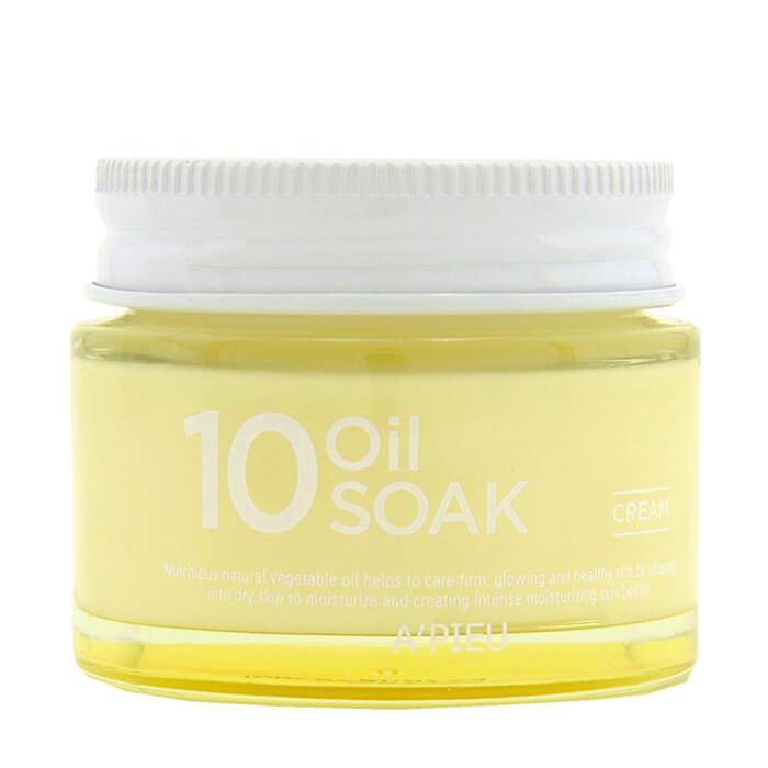 Увлажняющий крем для лица на растительных маслах A'pieu 10 Oil Soak Cream 50 мл (8809530068953)