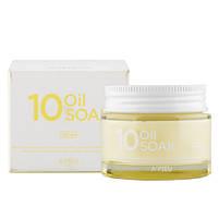 Увлажняющий крем для лица на растительных маслах A'pieu 10 Oil Soak Cream 50 мл (8809530068953), фото 2