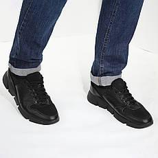 VM-Villomi Кожаные черные кроссовки