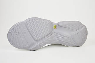 Кроссовки с открытой пяткой V.I.konty 9382 Бело-серые, фото 3