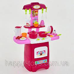 """Игровой набор """"Кухня"""", 24 элемента световые и звуковые эффекты, на батарейках, ТЕЧЁТ ВОДИЧКА """"FUN GAME"""" 2728 L"""