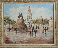 Киевские пейзажи картины маслом