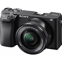 Цифровой фотоаппарат SONY Alpha 6400 kit 16-50mm Black (ILCE6400LB.CEC)