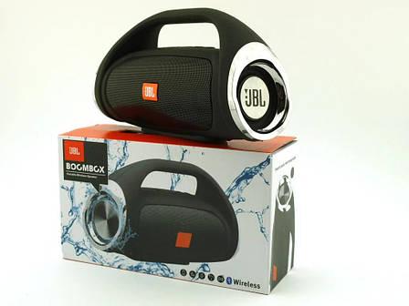 Портативная FM MP3 колонка в стиле JBL Boombox mini (k836) 8Wс bluetooth microSD/TF иUSB, фото 2