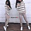 Костюм двойка штаны и кофта со вставками шерсть, фото 4