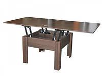 Стол трансформер из ДСП в гостиную Комфорт, ТМ Неман