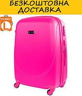 Чемодан большой на 4-х колесах WINGS (ВИНГС) JAKW310L-pink
