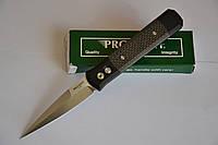 Купить Нож Pro-tech Godfather Carbon Black