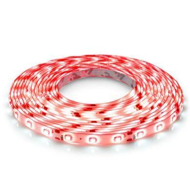 Светодиодная лента B-LED 3528-60 R IP65 красный, герметичная, 1м