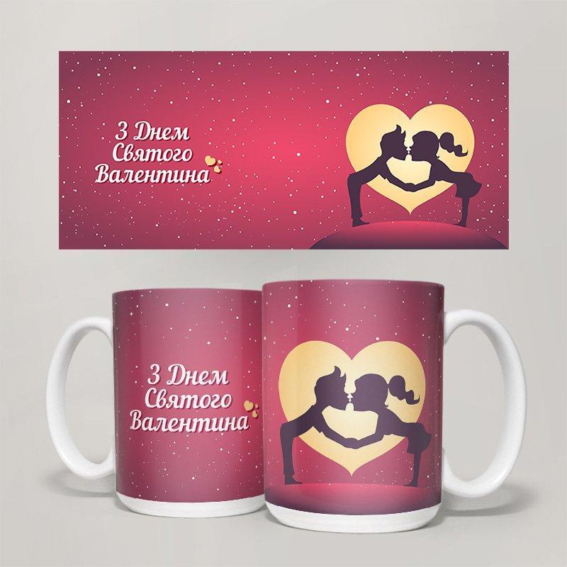 Чашка, Кружка День Святого Валентина, №15