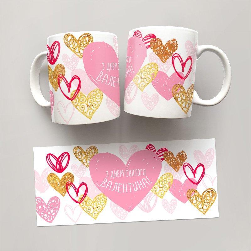 Чашка, Кружка День Святого Валентина, №13
