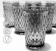 Набор стаканов из цветного стекла Кварц 350 мл (6431)