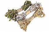 Мотузка з листочками (10х3м), фото 3