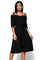 S, M, L / Зручне повсякденне чорне плаття