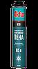 Профессиональная зимняя монтажная пена Akfix 870 877P MEGA 65L 1000 гр