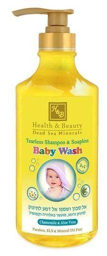 Шампунь и крем-гель для малышей Health & Beauty (780мл.)
