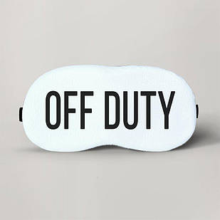 Маска для сна Off Duty