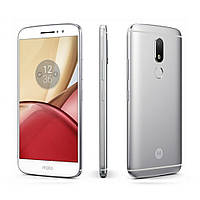 """Оригинальный Смартфон Motorola Moto M 4/32Gb Silver (XT1662), 16/8Мп, 2sim, экран 5.5"""" IPS, 4G, 8 ядер"""