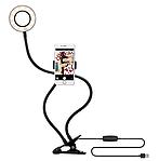 Кольцевой LED свет + держатель для телефона, фото 2