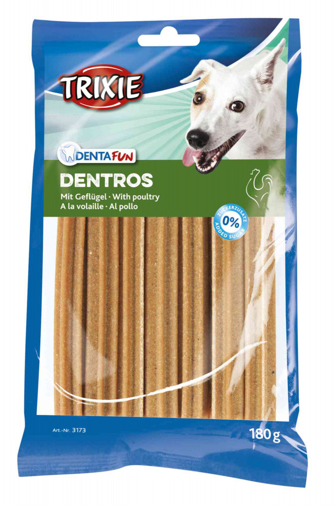Ласощі для собак для очищення зубів Trixie Dentros 7 шт. 180 г