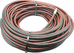 """Шланг для прочистки канализации высоким давлением, тип """"Коммерческий"""" со стальной оплеткой 100 м. ½ ''"""