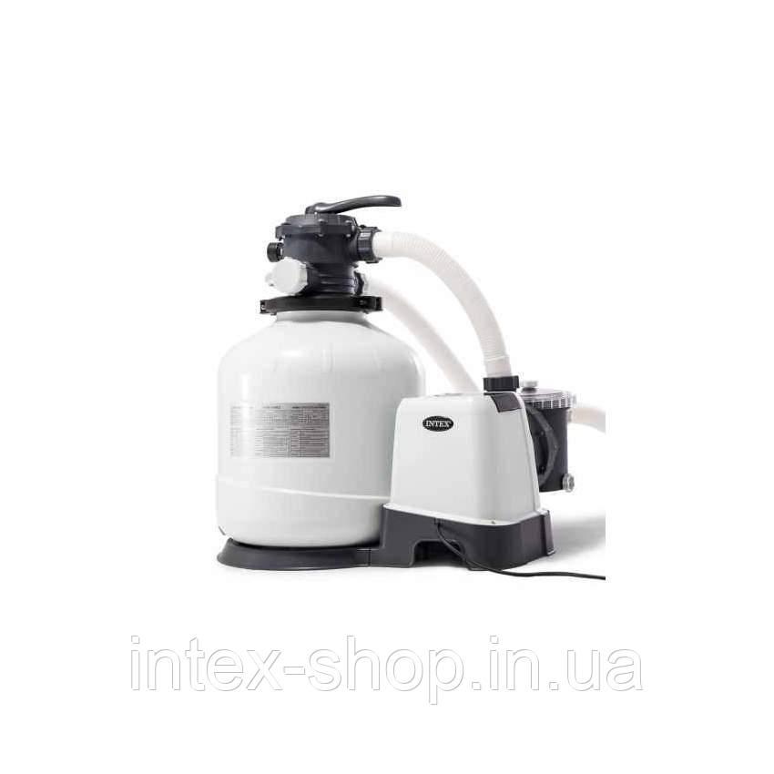 Песочный фильтр-насос комбинированный с хлоргенератором INTEX 26676 ( 6 тис. л/ч; 7 гр)