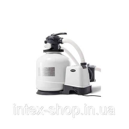 Песочный фильтр-насос комбинированный с хлоргенератором INTEX 26676 ( 6 тис. л/ч; 7 гр), фото 2