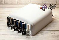 Стартовый набор для гель-лака Kodi с лампой
