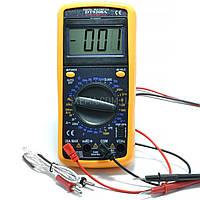 Мультиметр DT-9208A с измерением конденсаторов, температуры, частоты, силы тока, фото 1