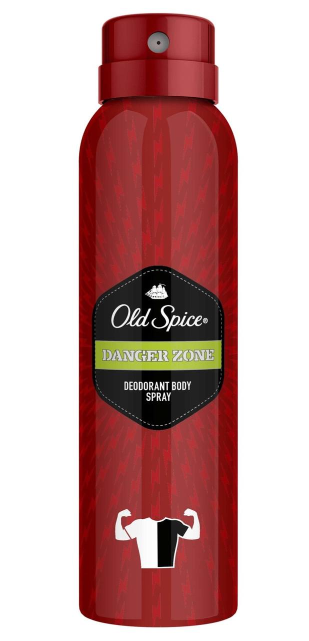Дезодорант аерозольний для чоловіків Old Spice Danger Zone 150 мл.