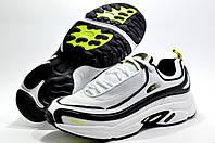 Мужские кроссовки в стиле Reebok Daytona DMX, Белый/Чёрный