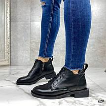 Ботинки на невысоком каблуке, фото 3