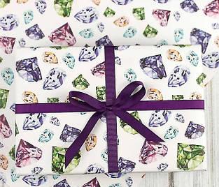 Подарочная бумага для упаковки