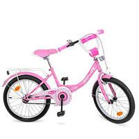 Двухколесный велосипед PROF1 Y2011 розовый для девочки высокопрочная сталь