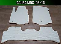 ЕВА коврики на Acura MDX '06-13 USA / EUR. Ковры EVA Акура МДХ