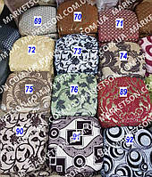Чехлы на табуретки комплект 4 шт на резинке (сидушка на табурет, стул) №27/2