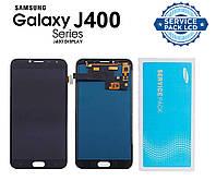 Дисплей + сенсор Samsung J400 Galaxy J4 Черный Оригинал 100% SERVICE PACK GH97-21915A