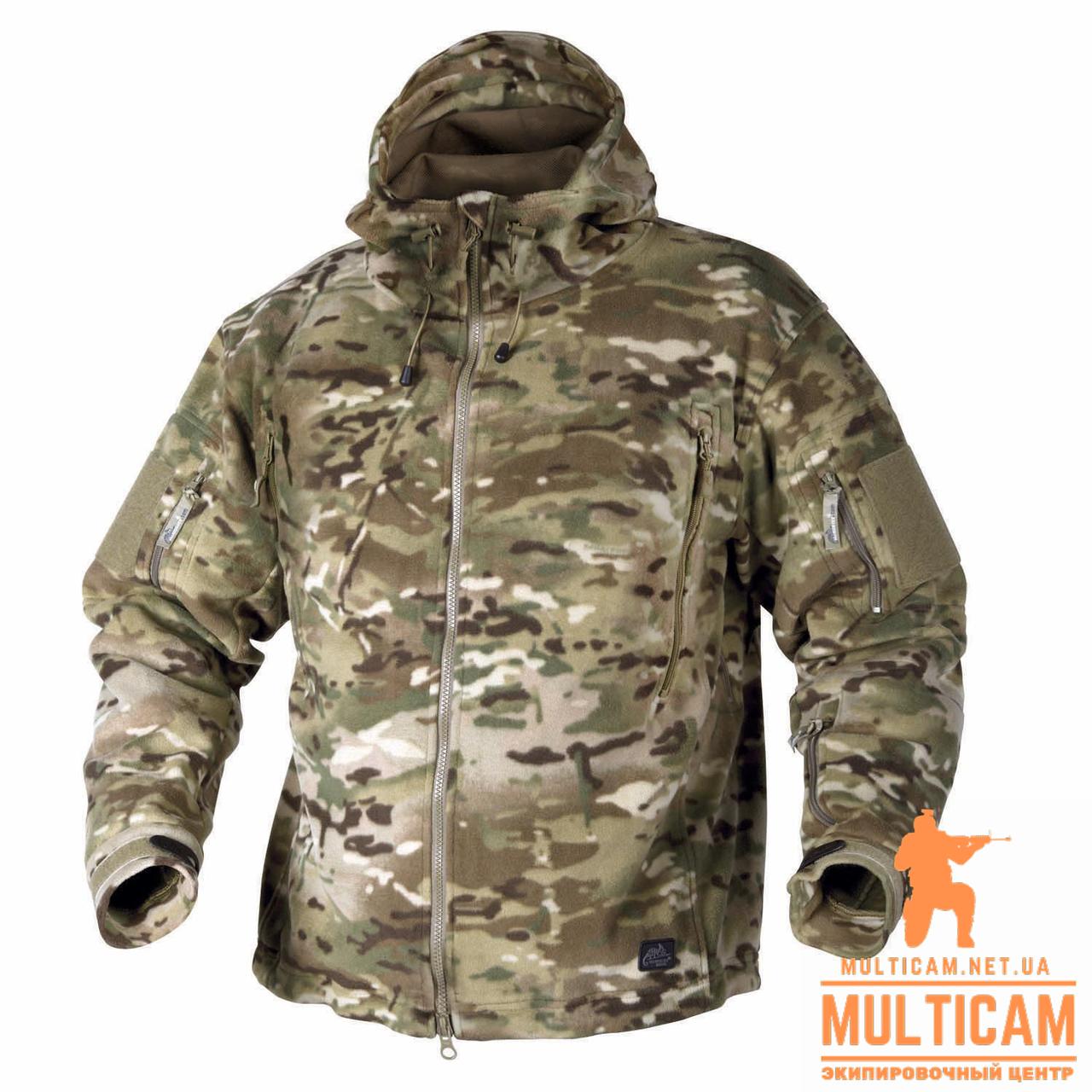 Куртка флисовая Helikon-Tex® PATRIOT Jacket - Double Fleece - Camogrom®