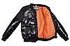 Модна куртка-бомбер для хлопчика підлітка, фото 2