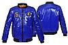 Модна куртка-бомбер для хлопчика підлітка, фото 6
